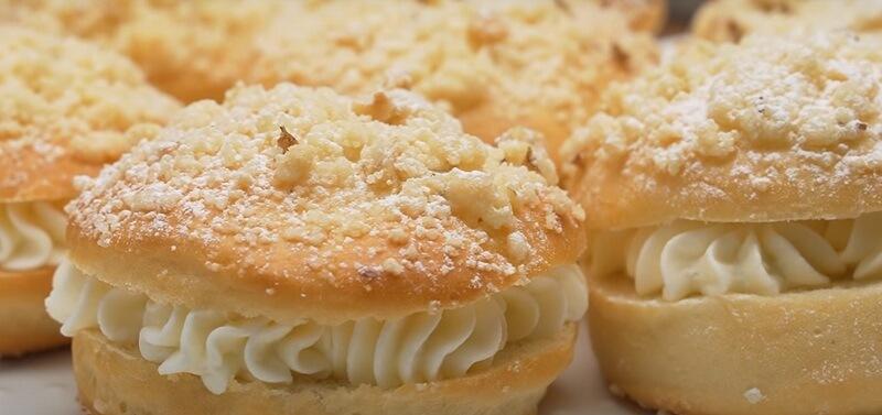 Как приготовить булочки «Милашка» с нежным творожно-сливочным кремом