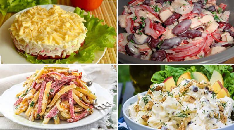 10 самых вкусных и любимых салатов!