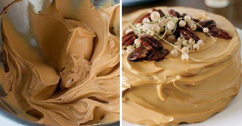 Карамельный крем для торта
