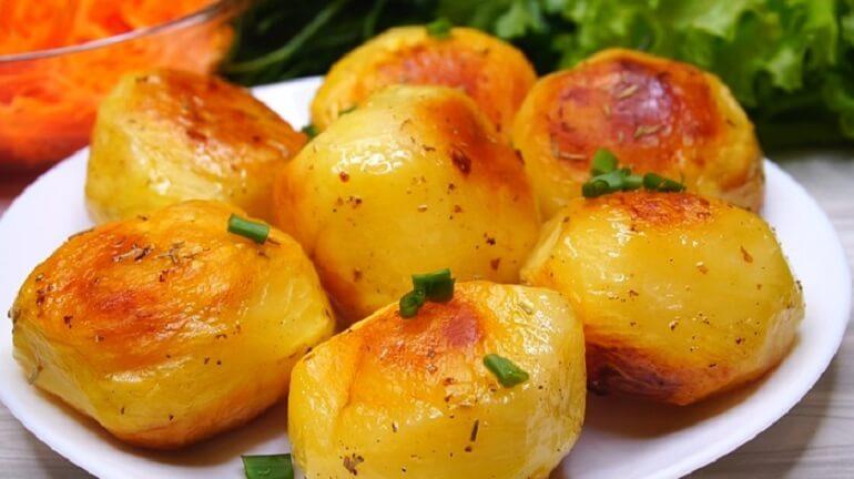 Картофель в духовке: чудо, какой хрустящий!