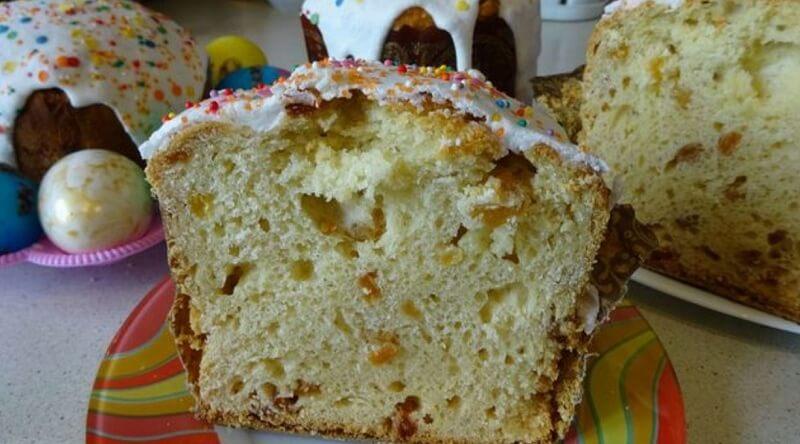 Рецепт вкусного, влажного пасхального кулича
