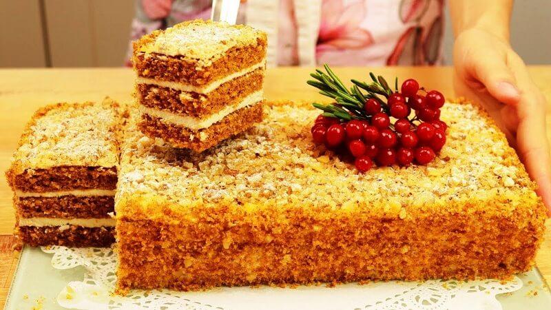 Морковный торт: простой рецепт потрясающего торта