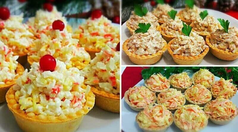 Начинки для тарталеток на праздничный стол: лучшие рецепты!