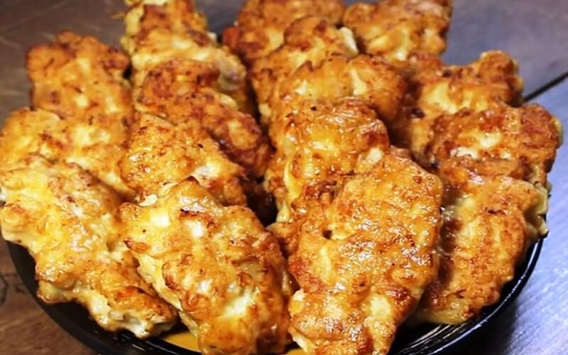Необычный рецепт сочных отбивных из куриного филе