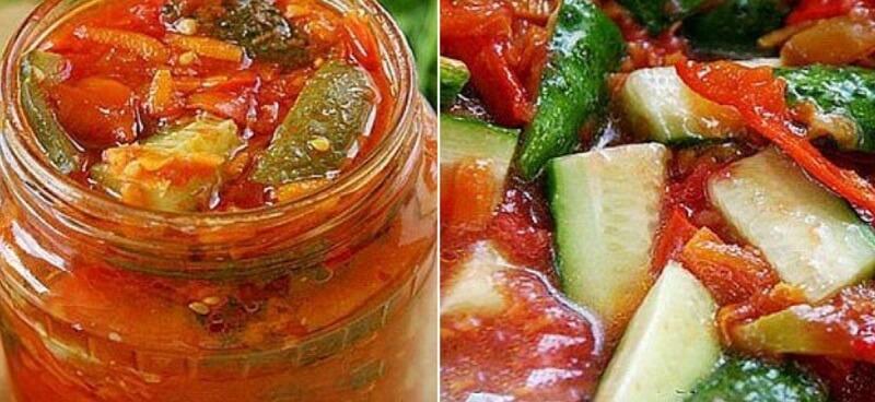 Невероятно вкусная заготовка из овощного ассорти
