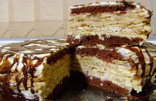 Невероятно вкусный торт «Крещатый Яр»
