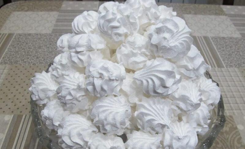 Нежный ванильный зефир без желатина