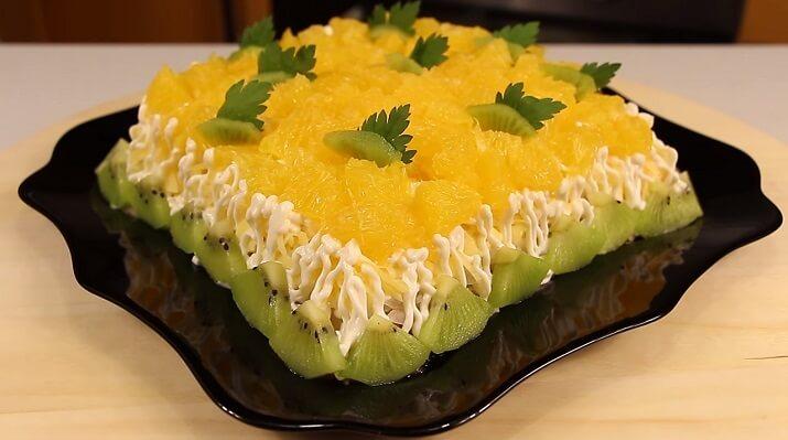 Потрясающе вкусный салат «Дипломат»
