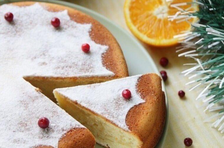 Новогодний пирог «Vassilopitta»