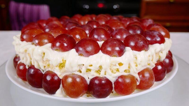 Новогодний закусочный торт Тиффани