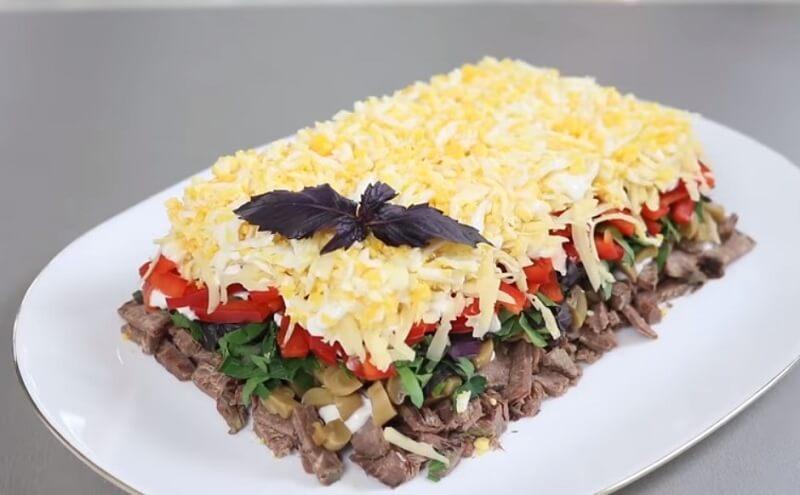 Новый салат «Спасибо»