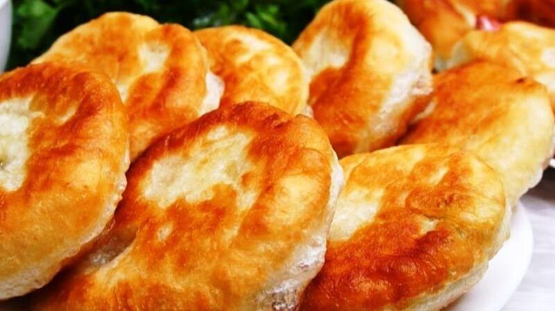 Обычный рецепт жареных пирожков с начинкой