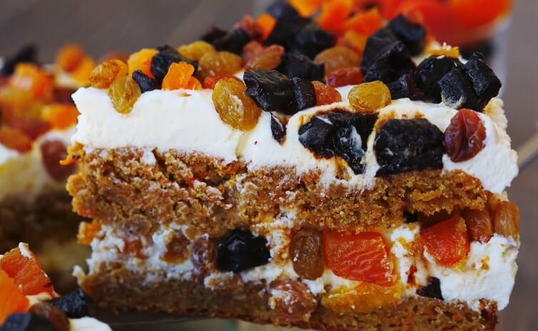 Оригинальный торт без пшеничной муки