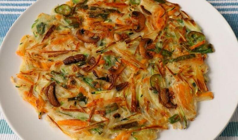 Овощные блинчики «Чон» по-корейски
