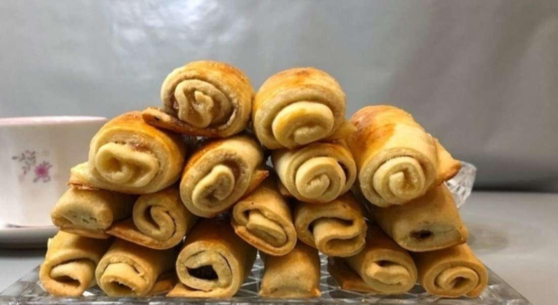Печенье «Ореховые трубочки»