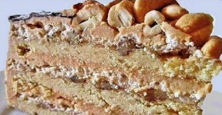 Песочный торт «Страсть маркизы»
