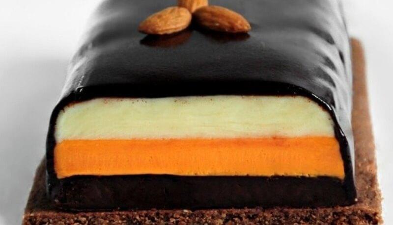 Потрясающий десерт помадка «Три шоколада»