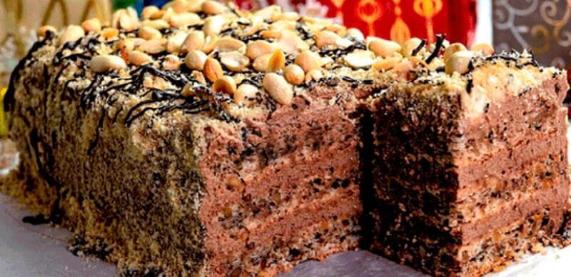 Потрясающий торт «Шоколадный пломбир» со вкусом мороженого
