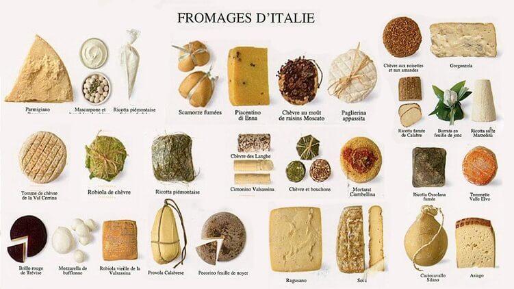 Правильное сочетание закусок и блюд с различными видами сыров
