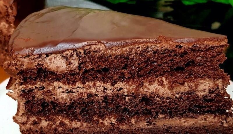 Превосходный шоколадный торт с изумительным кремом