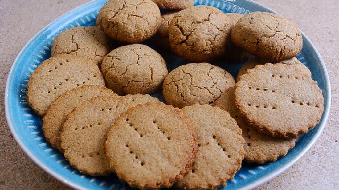 Простое печенье из овсяных хлопьев