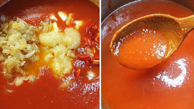 Простой рецепт домашнего кетчупа из помидор и яблок