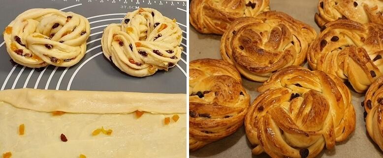 Простой рецепт красивых булочек