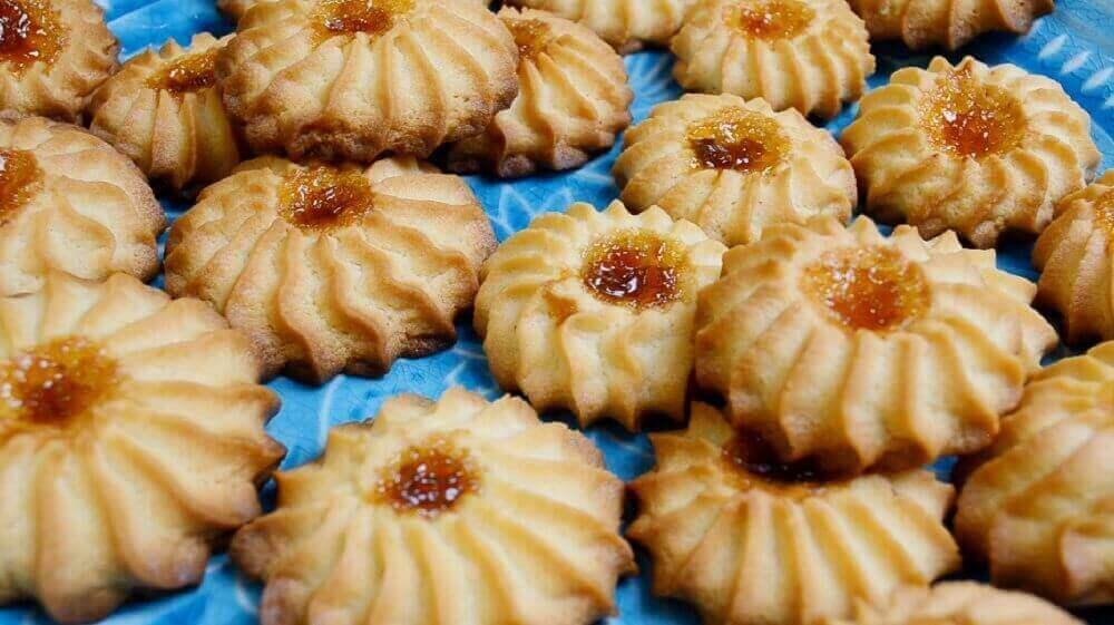 Простой рецепт: песочное печенье Курабье Бакинское