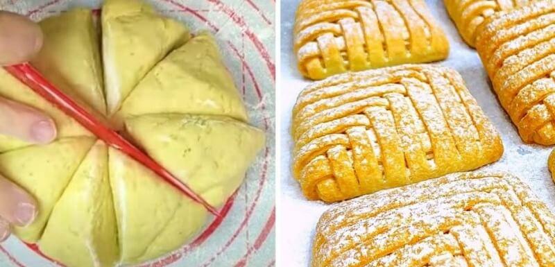 Простой рецепт рассыпчатого печенья с творогом