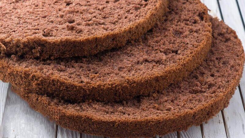 Простой рецепт шоколадного бисквита