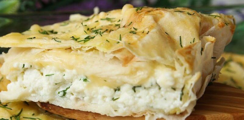 Простой рецепт вкусного пирога из лаваша