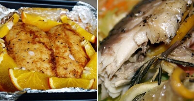 Простые блюда в духовке