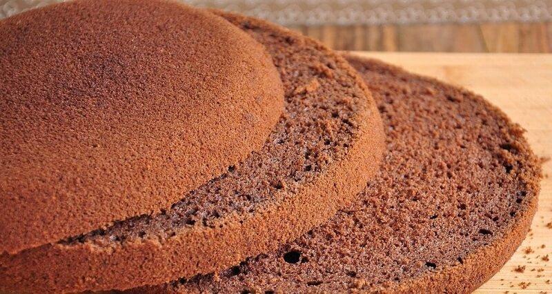 Проверенный рецепт шоколадного бисквита
