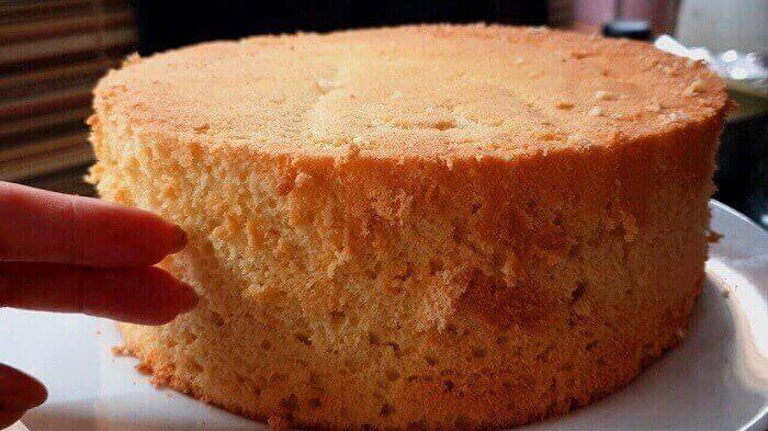 Пышный бисквит: классический рецепт