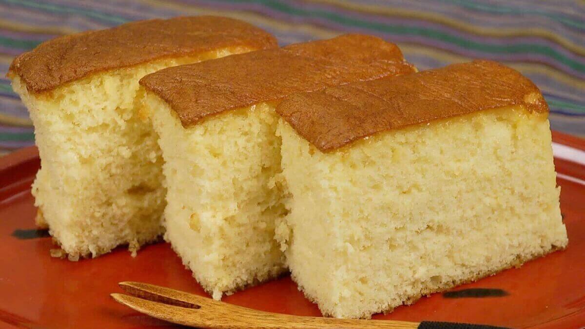 Рецепт бисквита «Кастелла» пошагово