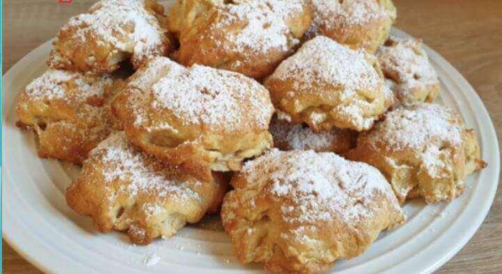 Рецепт быстрого яблочного печенья