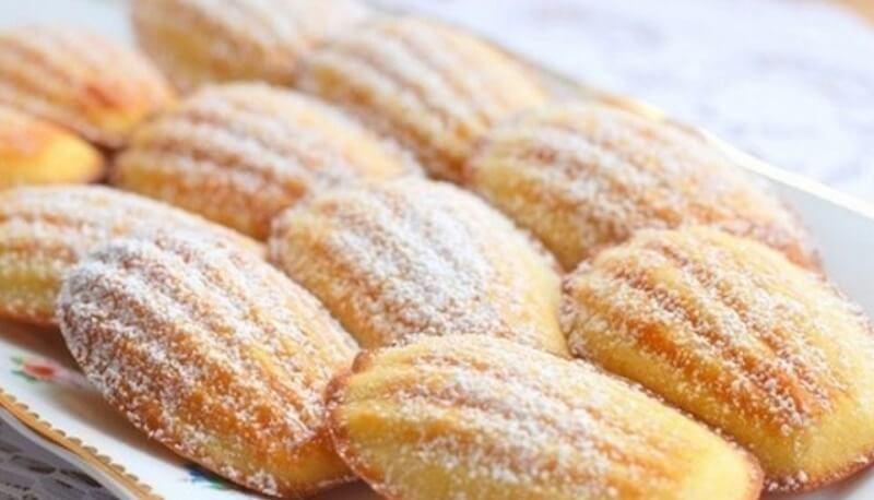 Рецепт классической выпечки-домашнее печенье «Мадлен»