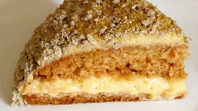 Рецепт любимого торта «Серёжки ивы»