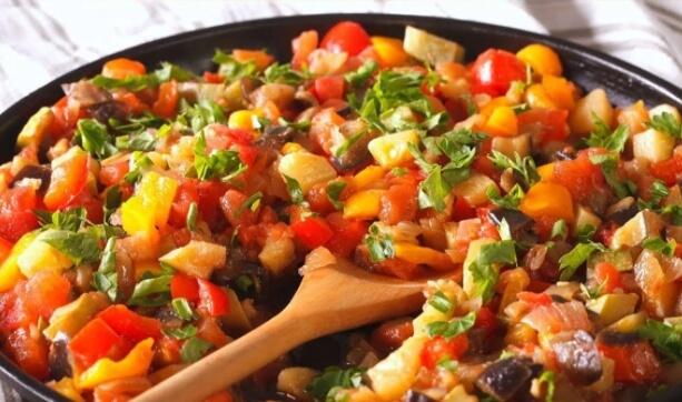Рецепт овощного рагу с кабачками без лука!