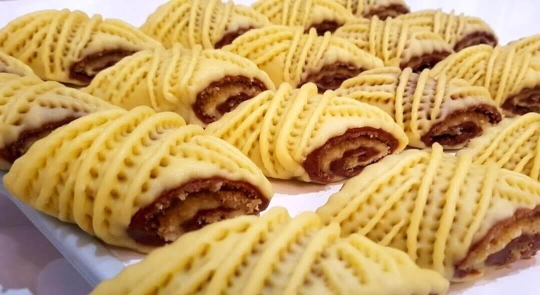 Рецепт печенья с ореховой начинкой