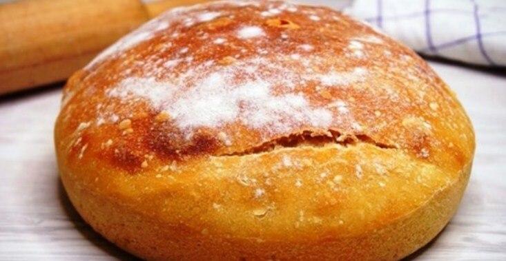 Рецепт пышного домашнего хлеба