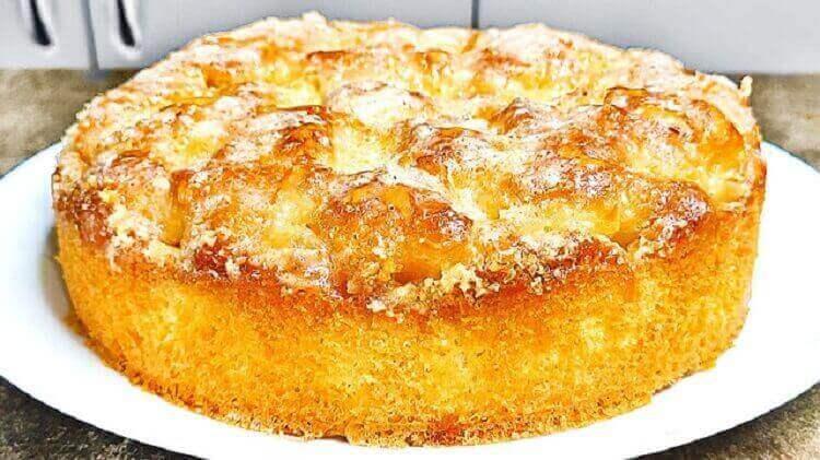 Рецепт сахарного пирога пошагово
