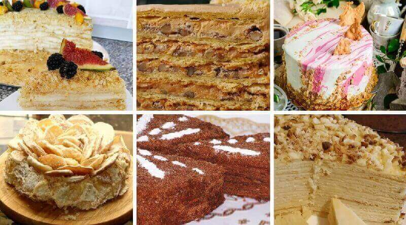 Рецепт торта «Наполеон» в домашних условиях