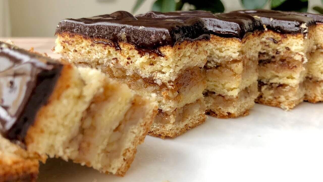Рецепт венгерского пирожного Жербо