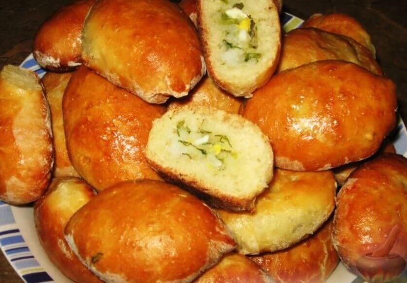 Рецепт вкусных пирожков с начинкой