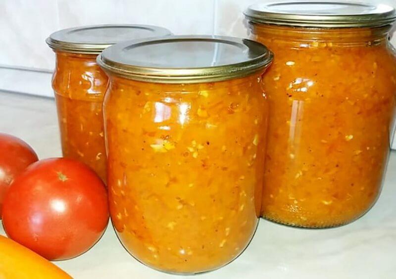 Рецепты закусок на зиму: салаты с морковью и помидорами