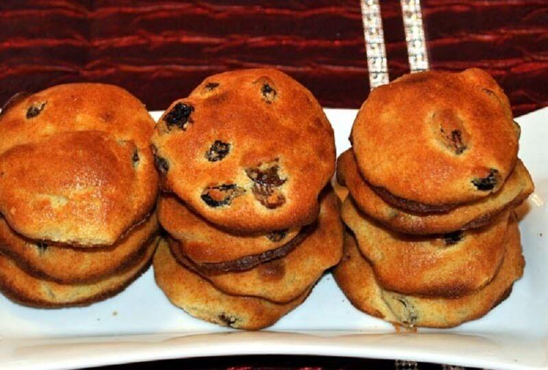 Ромовое печенье с изюмом