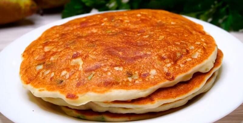 Румяные и очень ароматные сырные лепешки