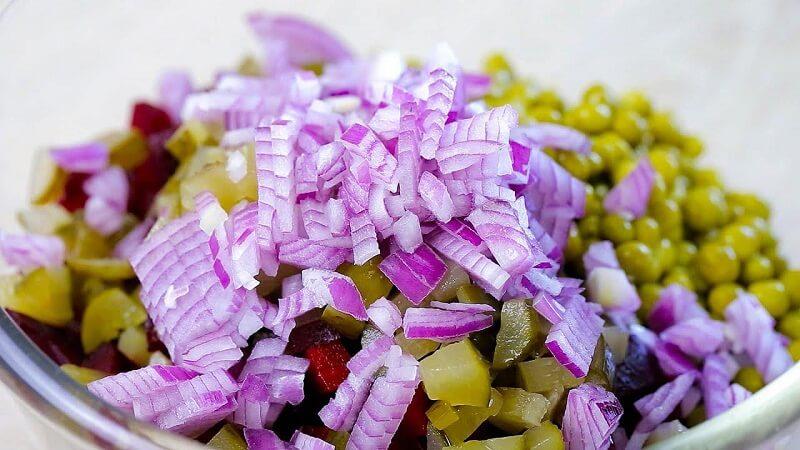 Салат со свеклой без майонеза