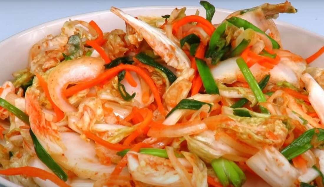Салат «Кимчи» из пекинской капусты